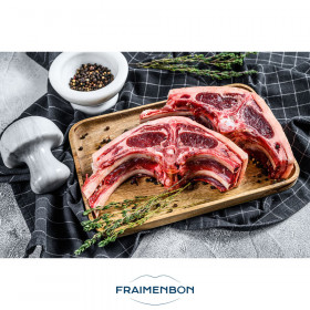 Côte d'agneau filet double (UE)