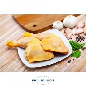 Cuisse de poulet fermier jaune (Fr)