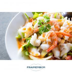 Salade de fruits de mer àlaprovençale