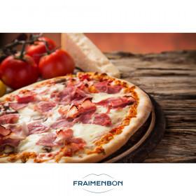Pizza jambon emmental