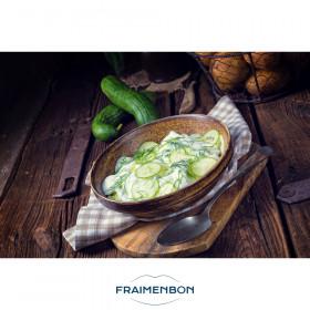 Salade de concombre à la crème