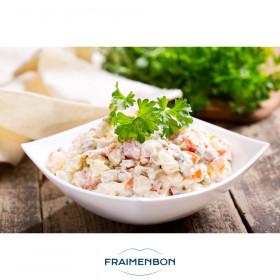 Salade du pêcheur pommes de terre thon et tomates