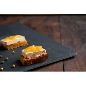 Gourmandise de bloc de foie gras de canard