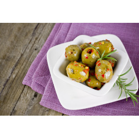 Olives vertes à la tahitienne
