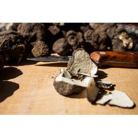 Morceaux de truffes noires