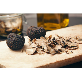 Pelures de truffes noires