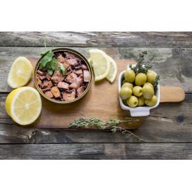 Poulpe à l'huile d'olive