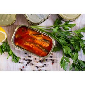 Sardines en sauce Xouba